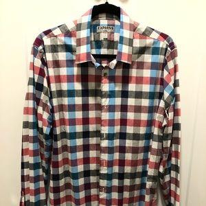 Express 1MX Dress Shirt - Fitted